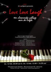 flyer - love love laugh